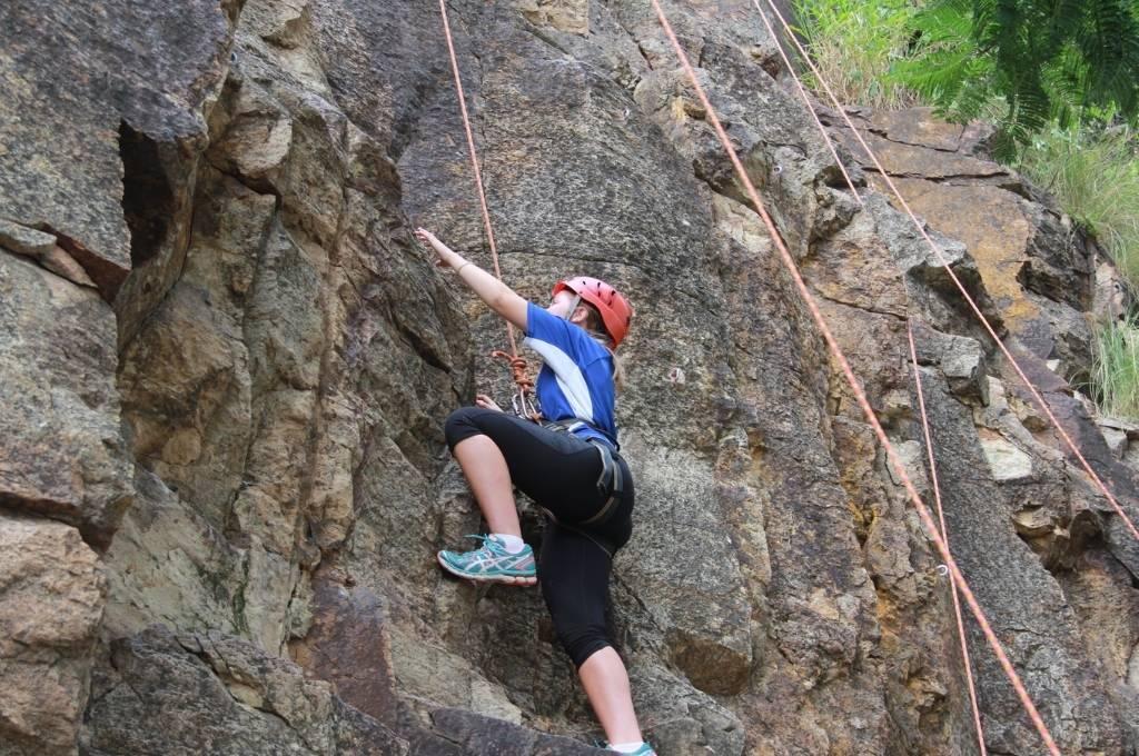 Free School Holiday Activities Brisbane Southside Rock Climbing Kangaroo Point