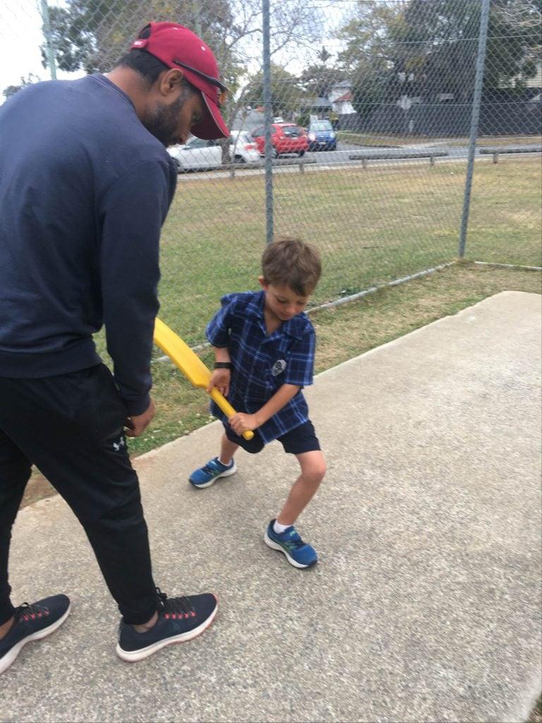 Saurabh batting coaching