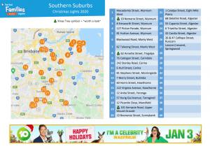 Southern Suburbs Christmas lights 2020