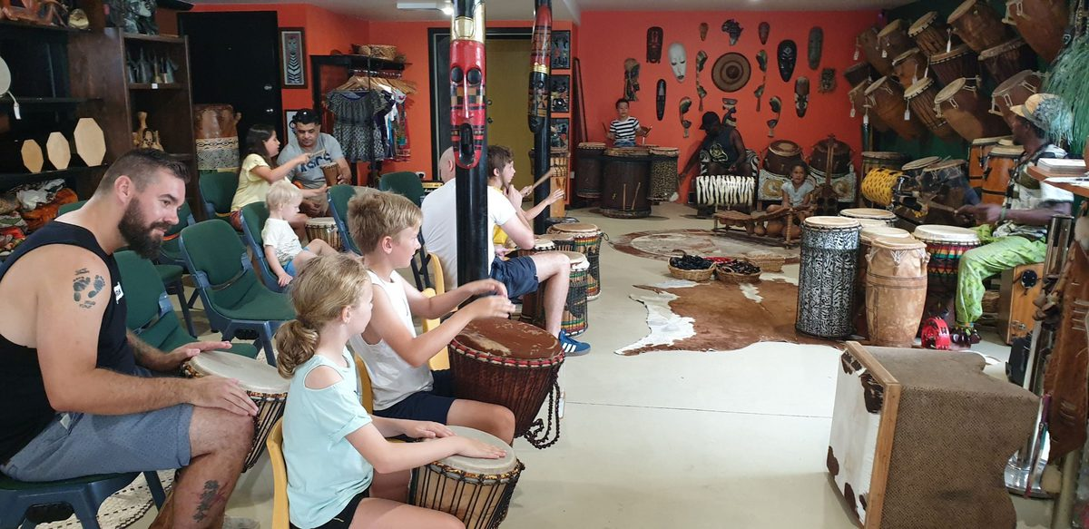 African Drum and Dance Playshop