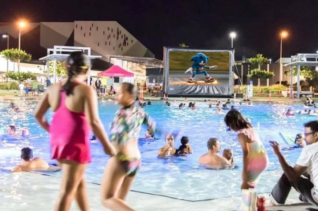 Dive in Movie at Orion