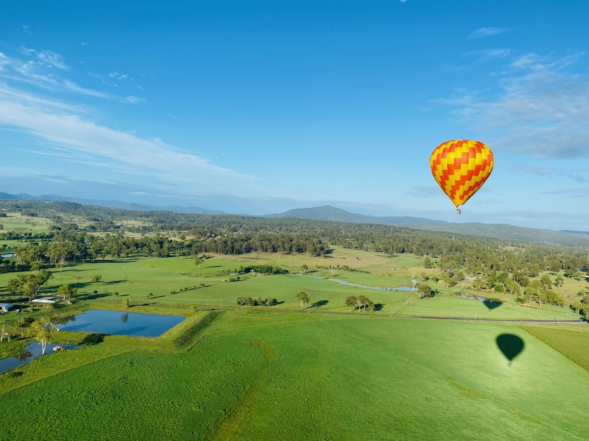 hot air balloon Brisbane discounts