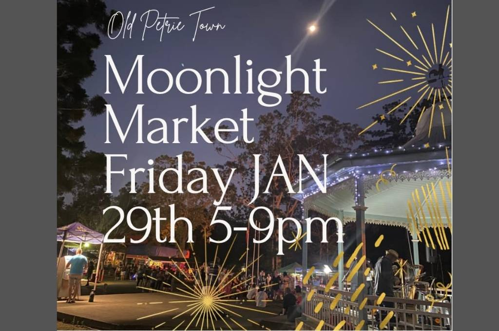 Old Petrie Town Moonlight Markets