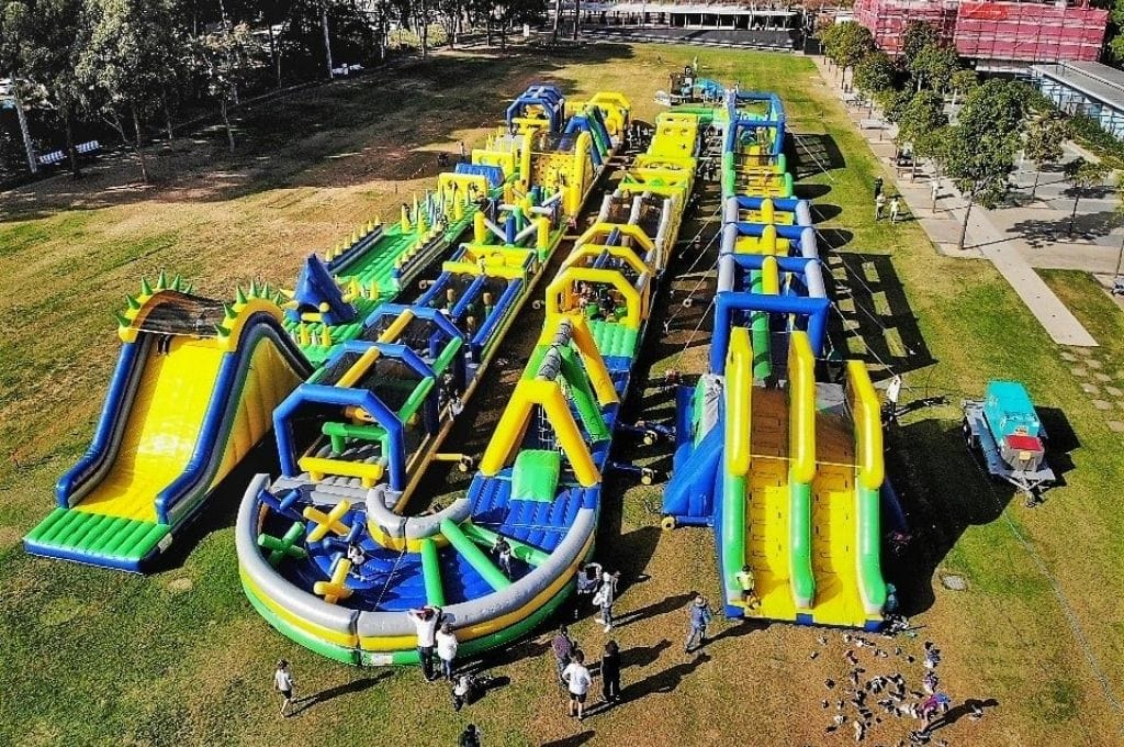 Tuff Nutterz Australia's Biggest Inflatable Obstacle Course