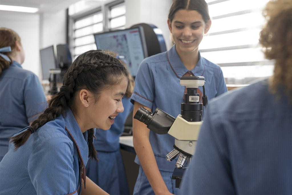 Benefits of an all girls education in STEM subjects