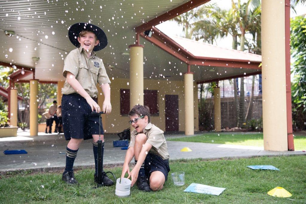 Brisbane Grammar School peer support