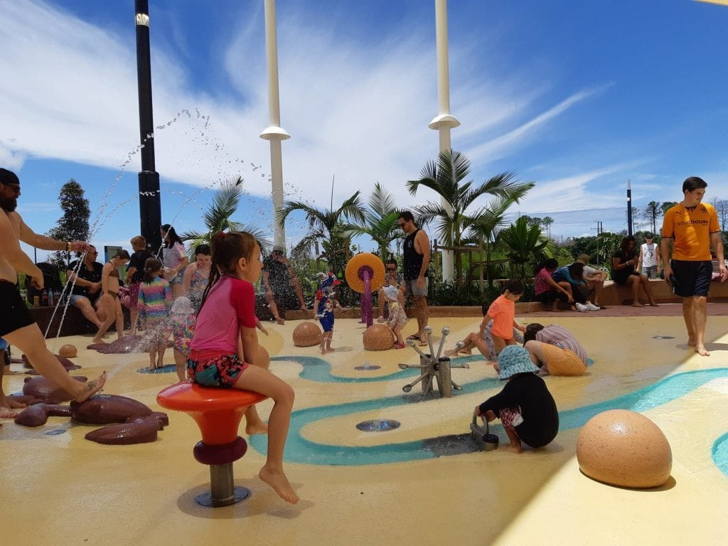 The mill waterpark shade sails