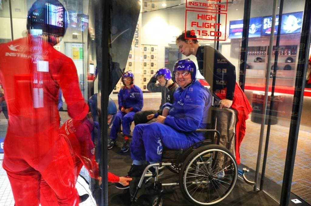 iFLY All Abilities Event Chermside