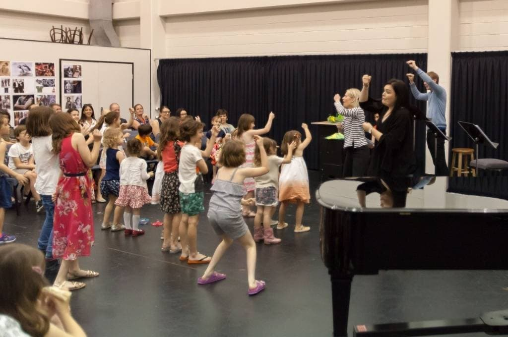 Hoot and Meow in Harmony Workshop