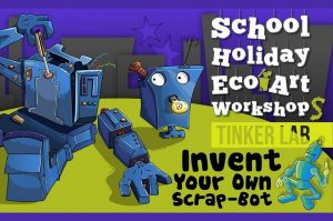 Invent Your Own Scrap-Bot