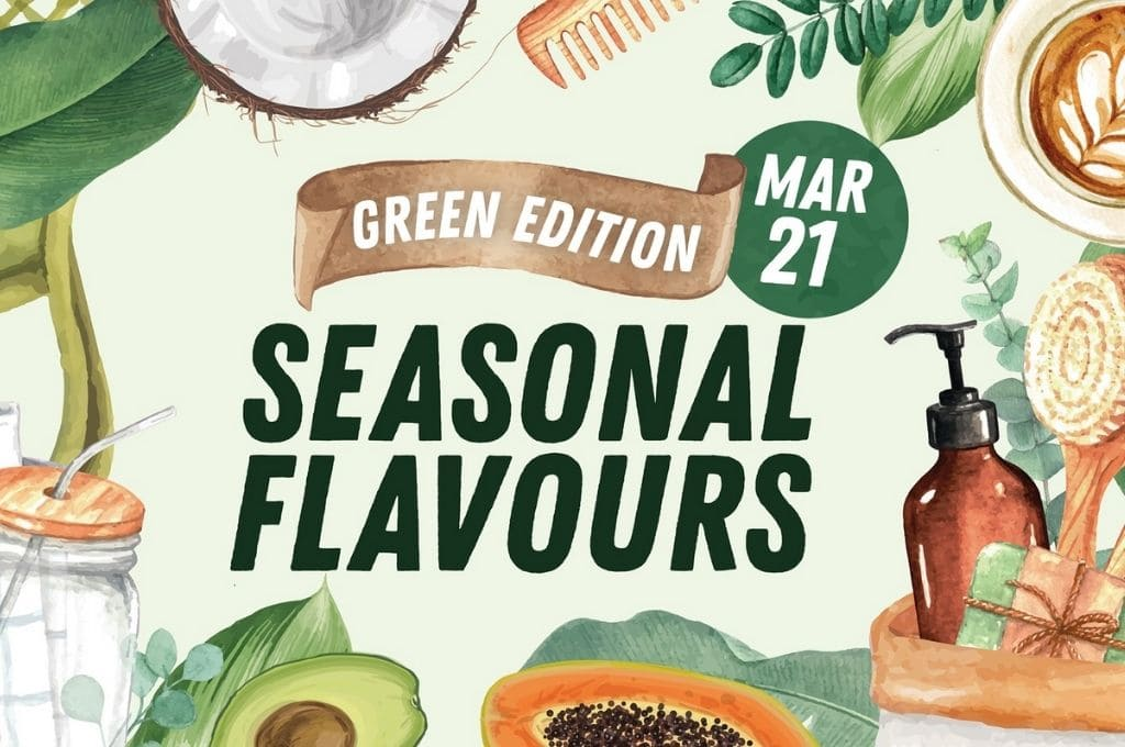 Milton Markets Seasonal Flavours Green Edition