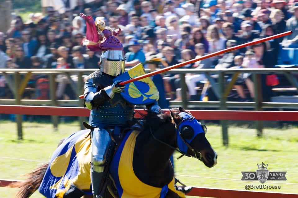 Abbey Medieval Festival Joust