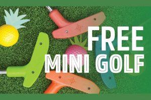 FREE Mini Golf Indooroopilly