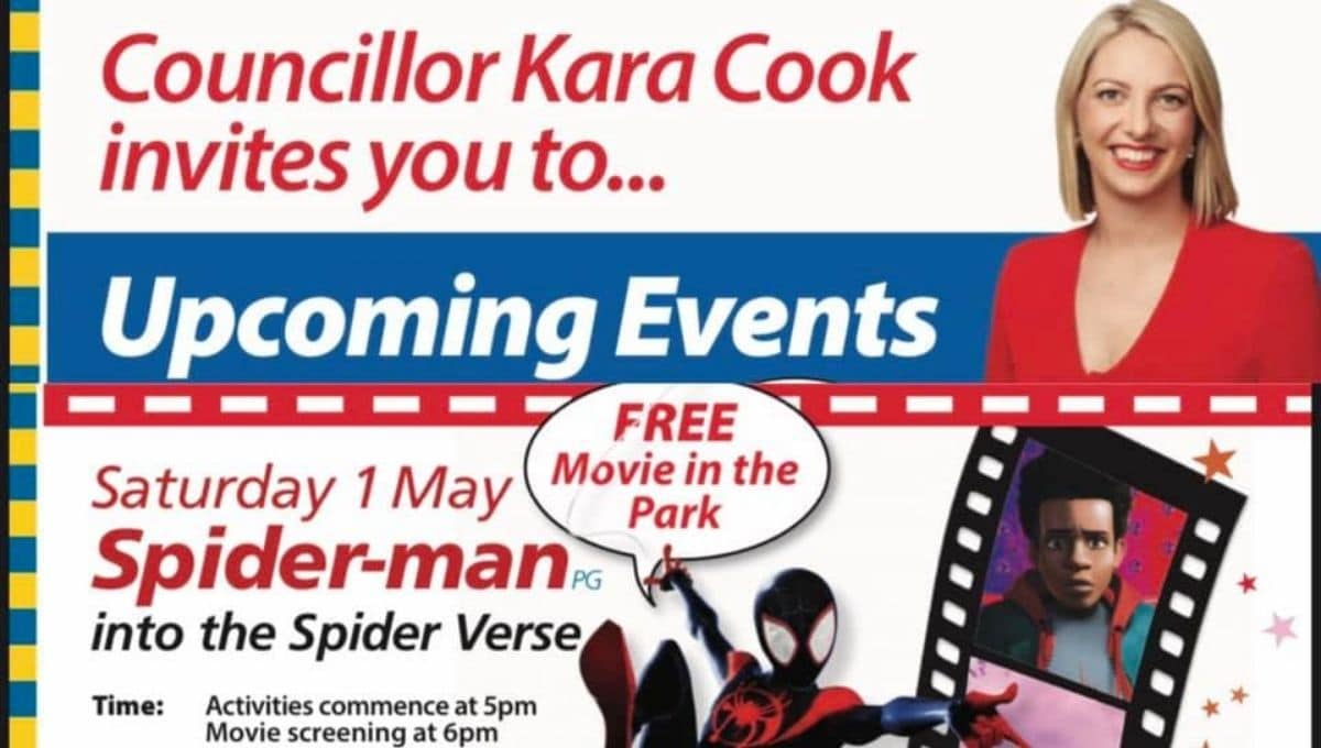 Free Spiderman movie in the park