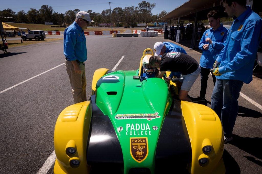 Padua race day