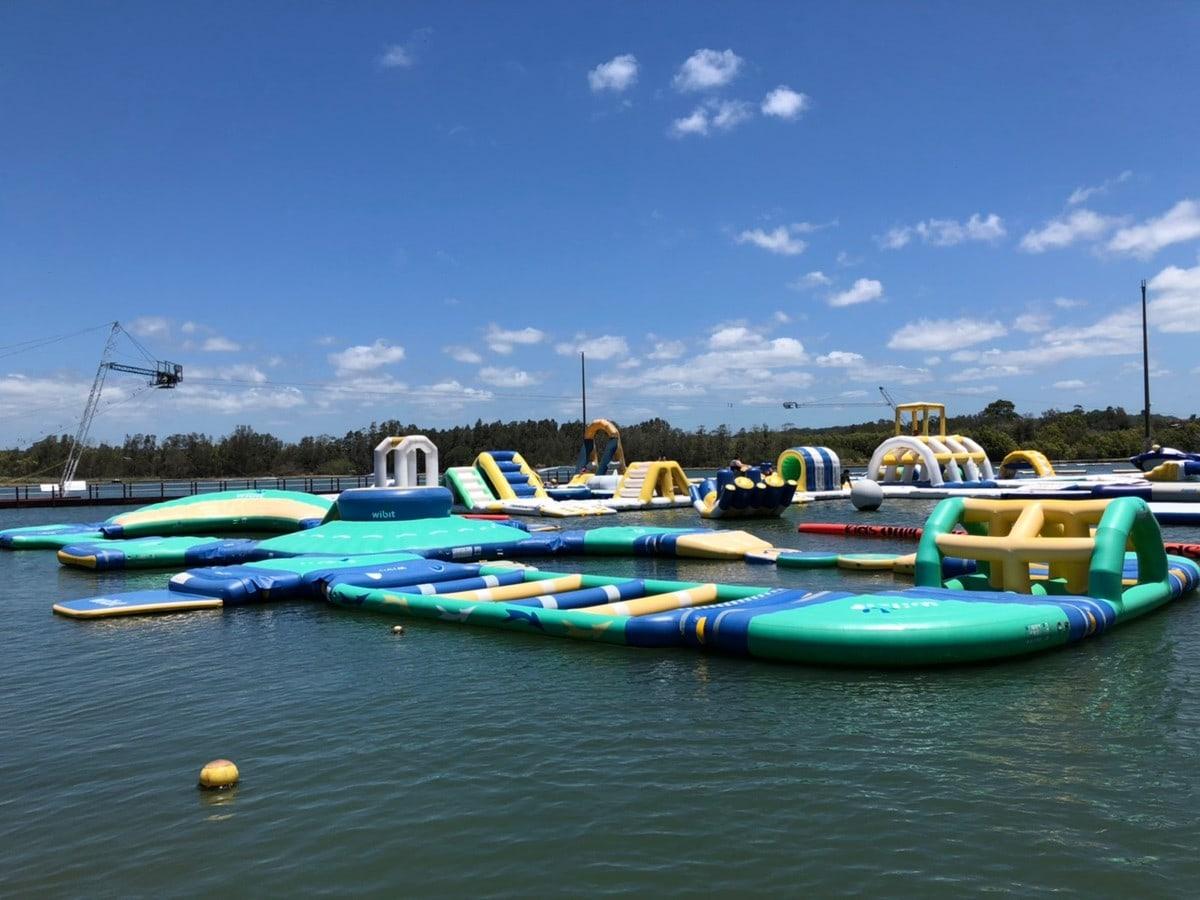 REVIEW: Bli Bli Watersports | Aqua Park, Wakeboarding and Fishing!