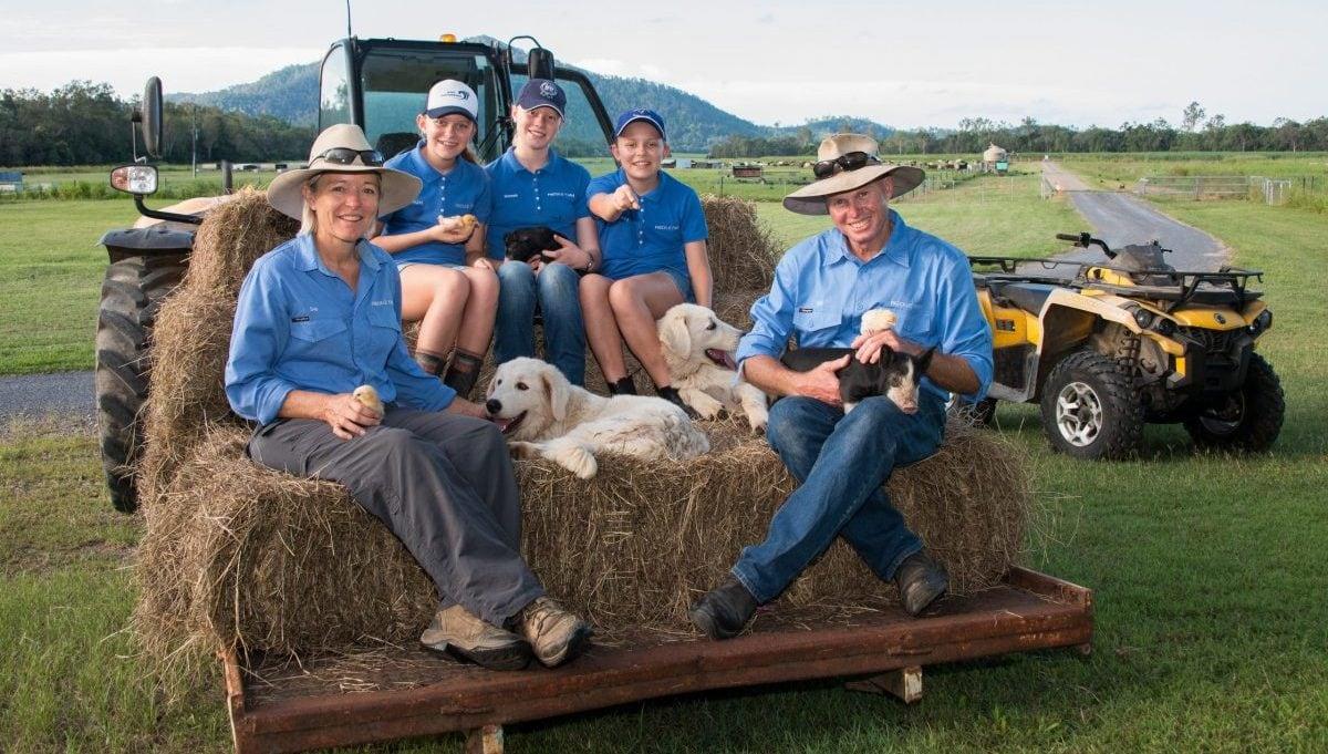 Freckle Farm Mackay family