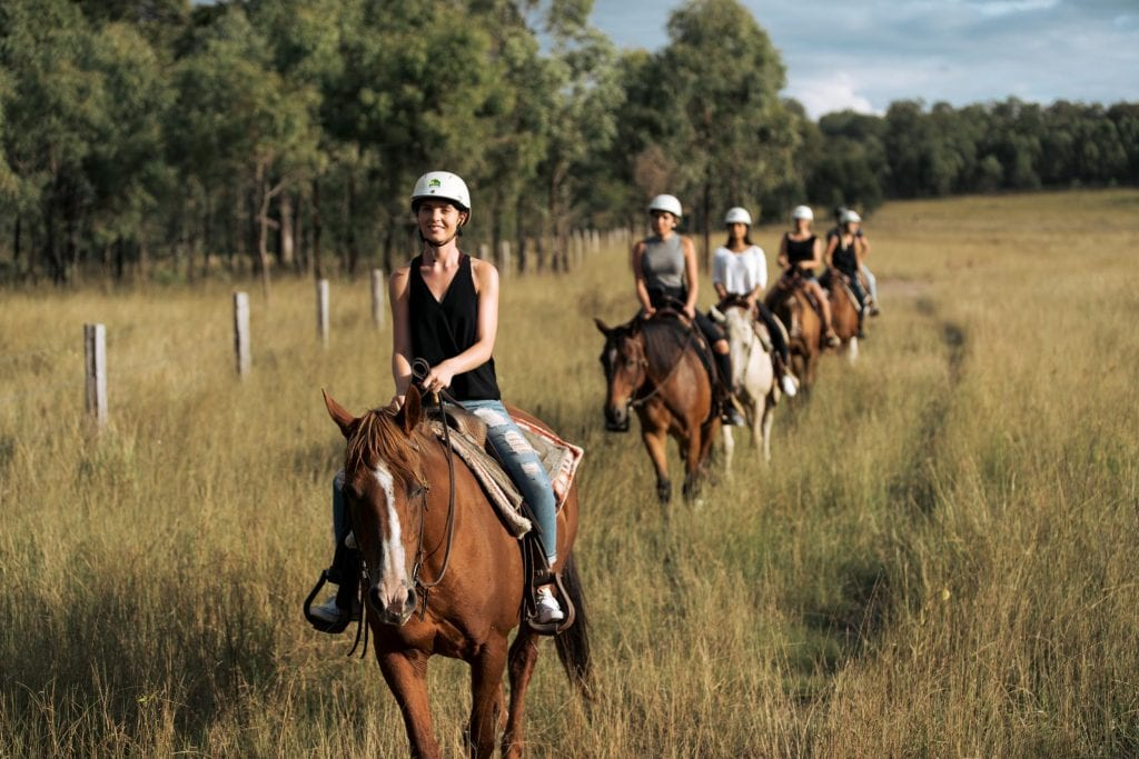 Cowboy Up trail ride Toowoomba