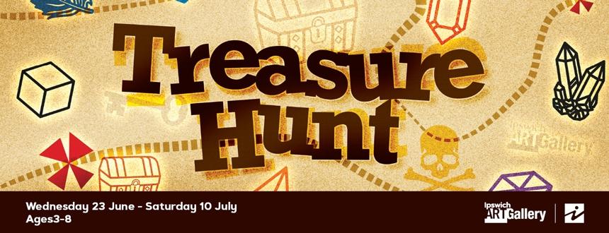 Treasure Hunt at Ipswich Art Gallery
