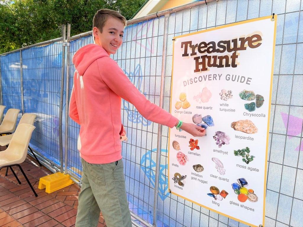 Ipswich Art Gallery Treasure Hunt Sign