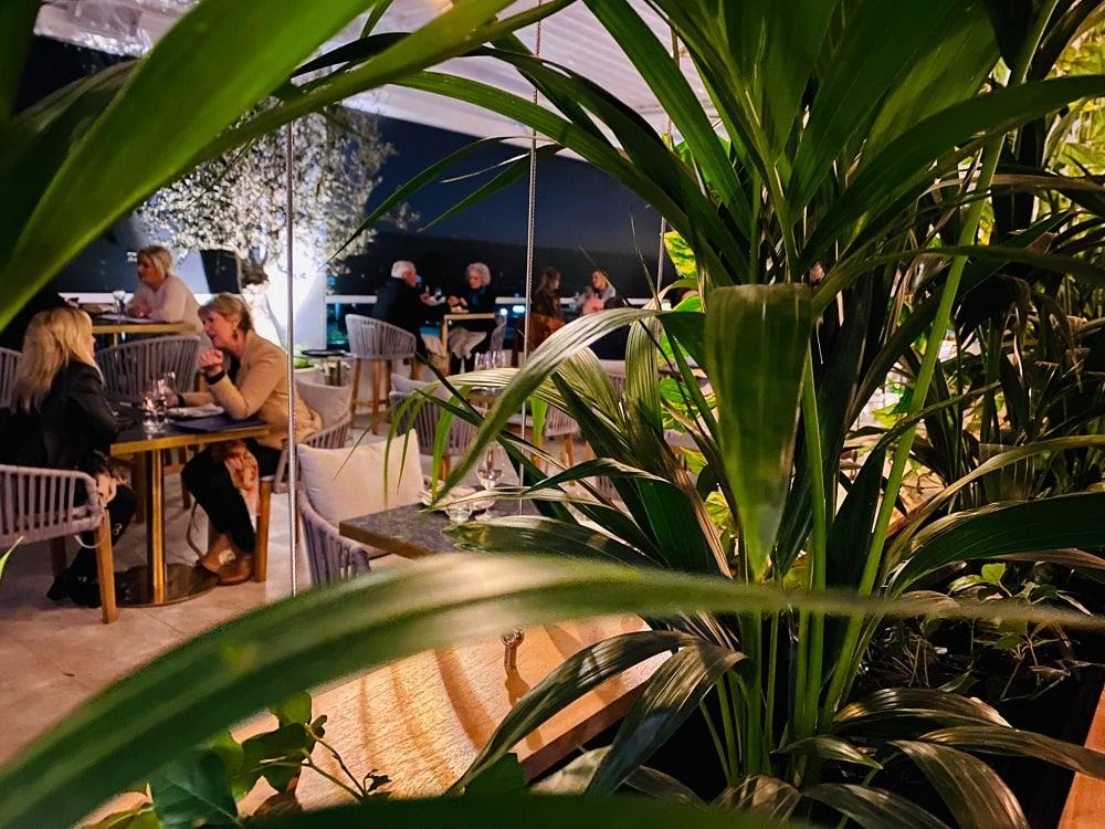 Iris rooftop bar and restaurant