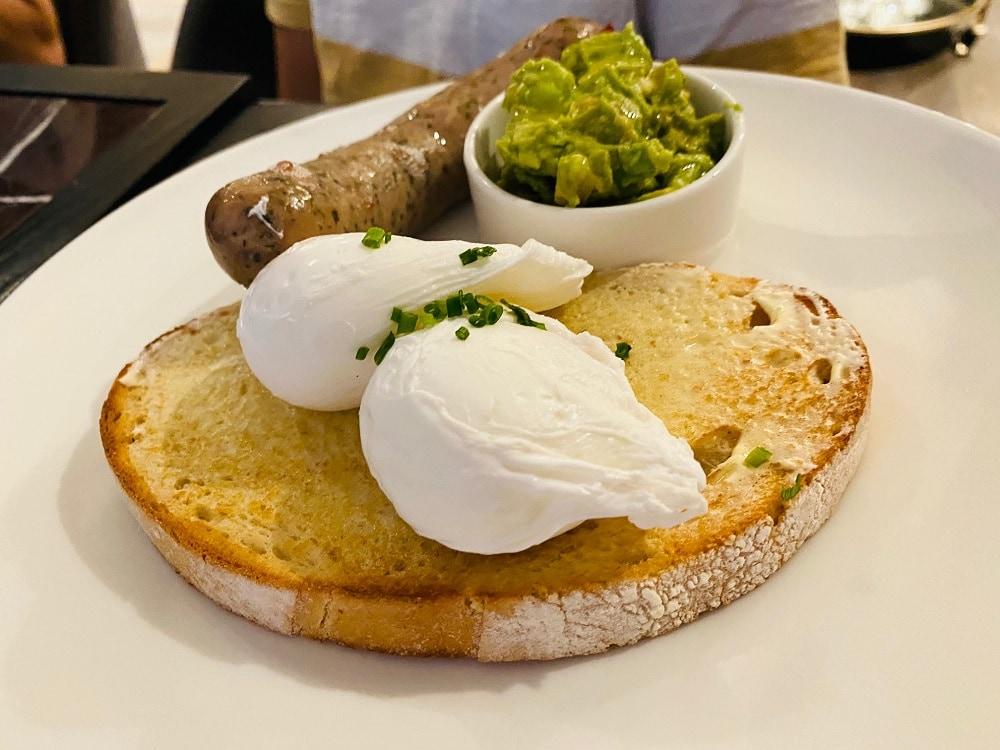 Hotel X breakfast