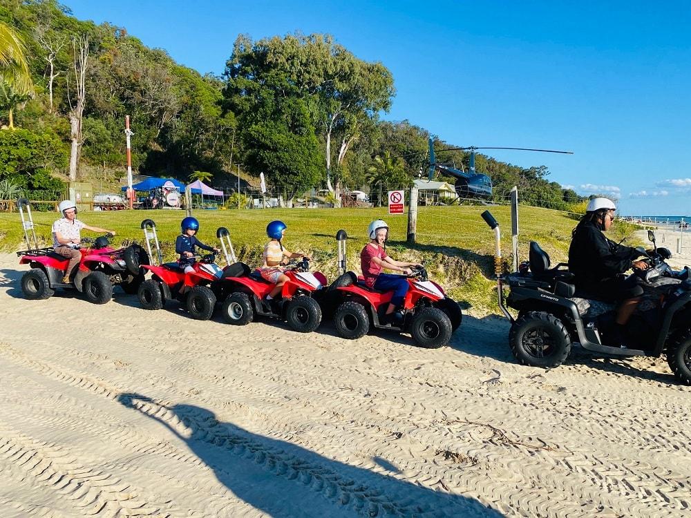 ATV on Tangalooma