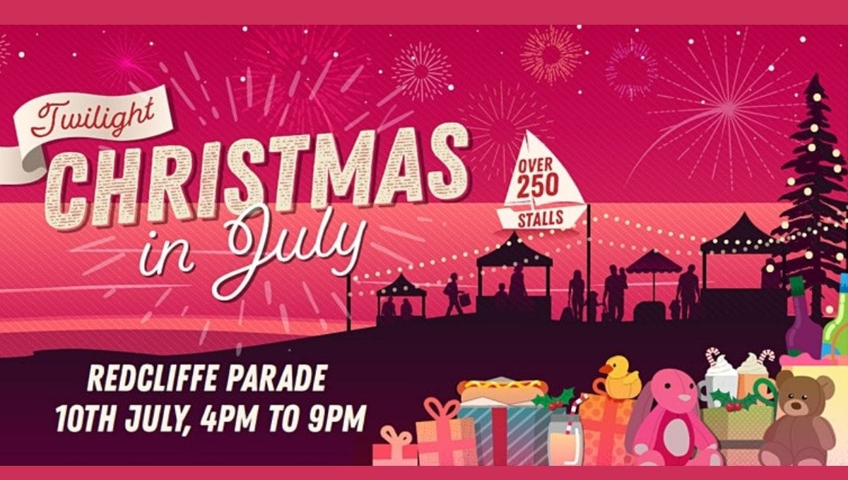 Redcliffe Christmas in July Twilight Market