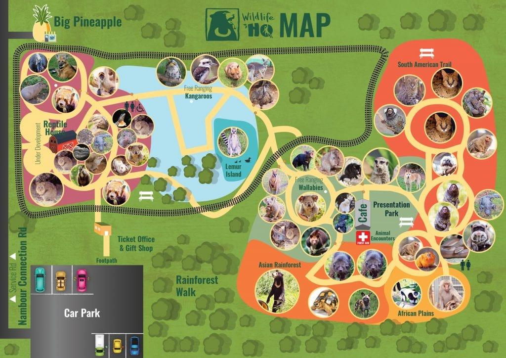 Wildlife HQ Map