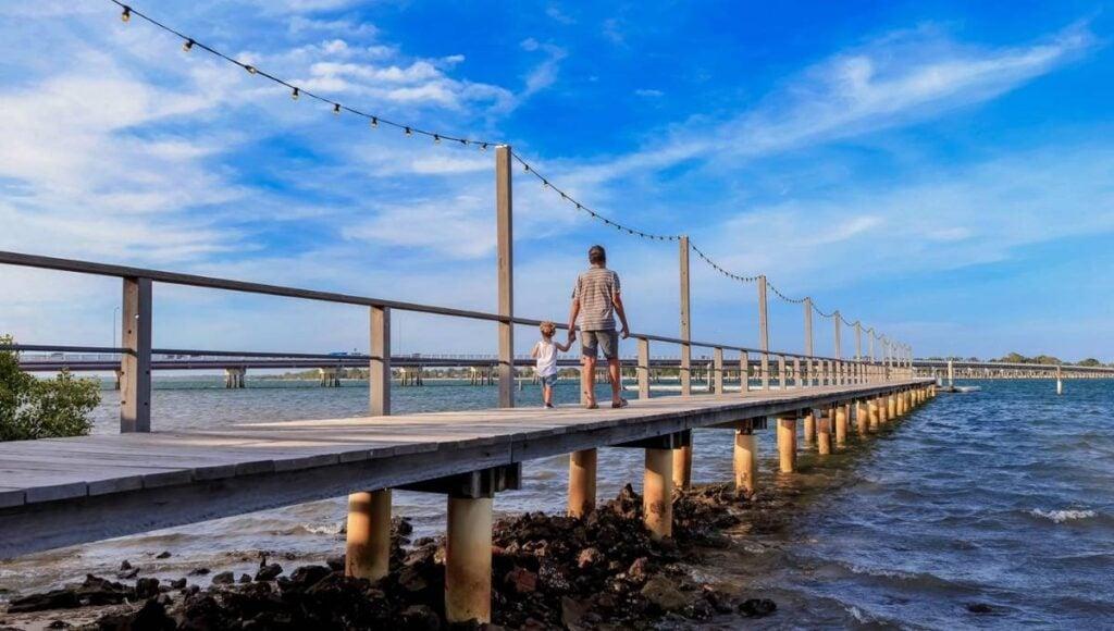 Father's Day Brisbane Sandstone Point