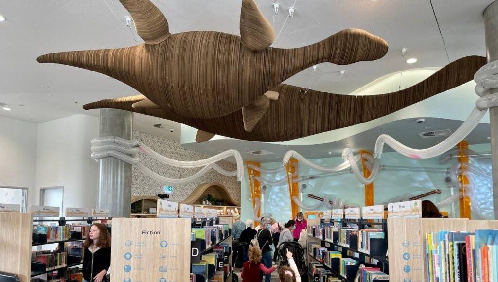 Ipswich Children's Library Dinosaurs