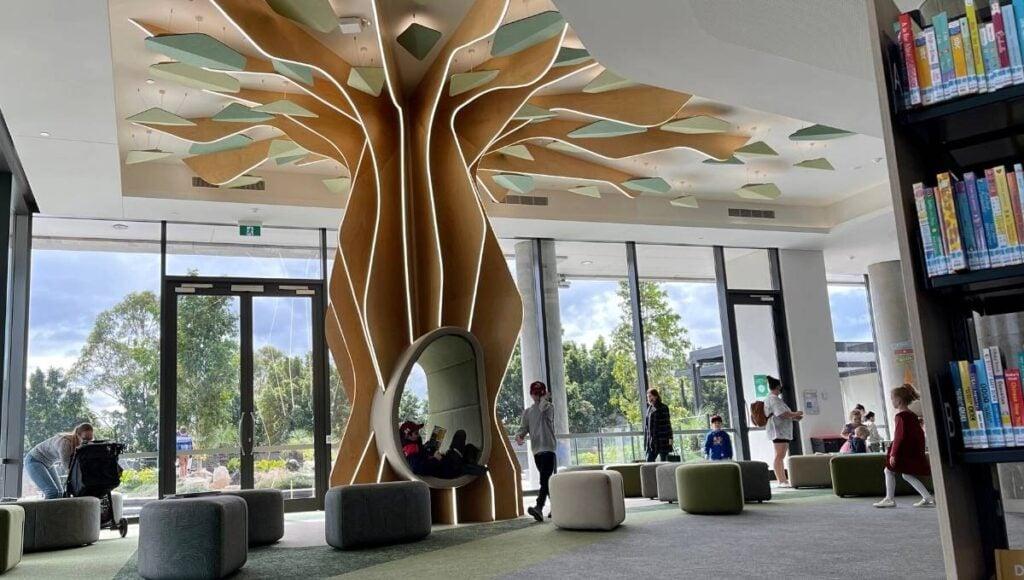 Ipswich Children's Library Tree