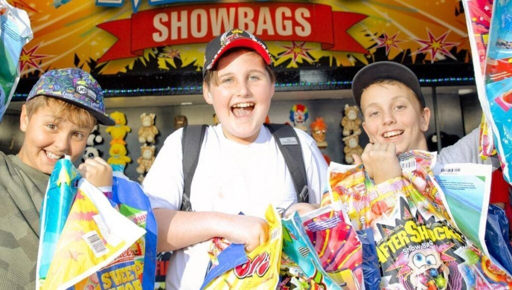 things to do at the Ekka showbags