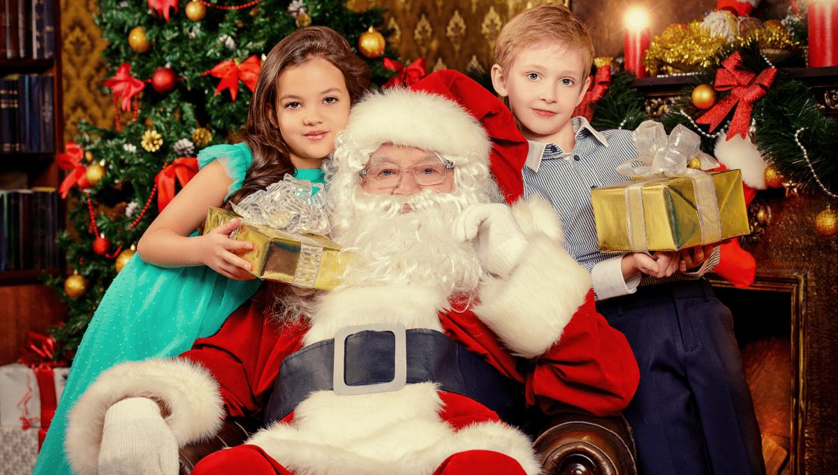 Santa photos on the gold coast