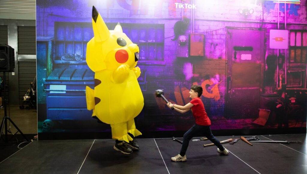 Oz Comic-Con Brisbane Pikachu