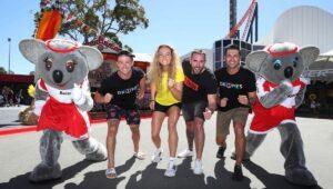 Dreamworld Fun Run Runners
