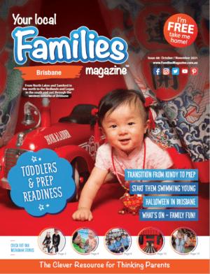 Families Magazine Brisbane Issue 48 Oct-Nov21 cover