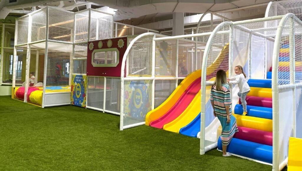 minibounce multi storey playgym
