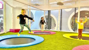 minibounce trampolines high